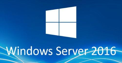 ระบบปฏิบัติการ Windows Server 2016