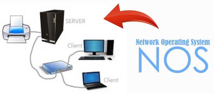 ระบบปฏิบัติการเครือข่าย Network Operating System NOS (เน็ตเวิร์คโอเปอเรทิ้งซิซเท็ม เอ็นโอเอส)